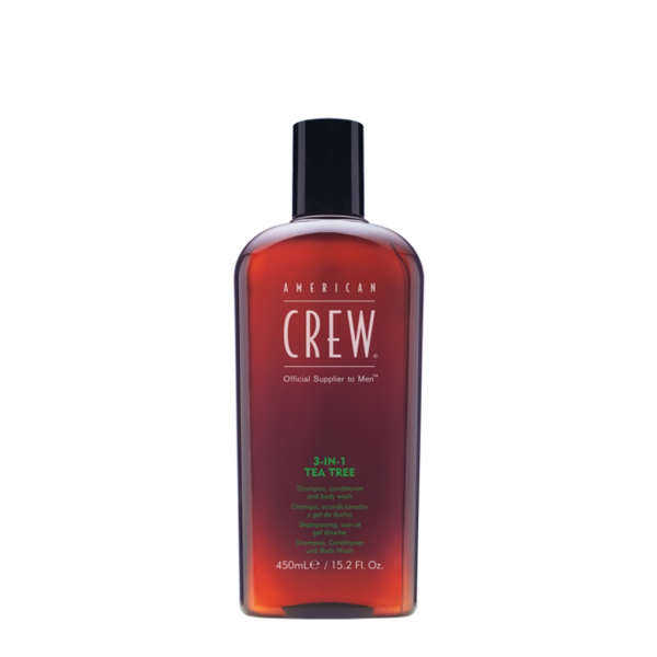 American Crew - 3-in-1 tea tree 450ml